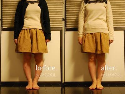 41歳 女性 「体重が落ちて、O脚も改善した」