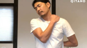 肩甲下筋のストレッチ方法