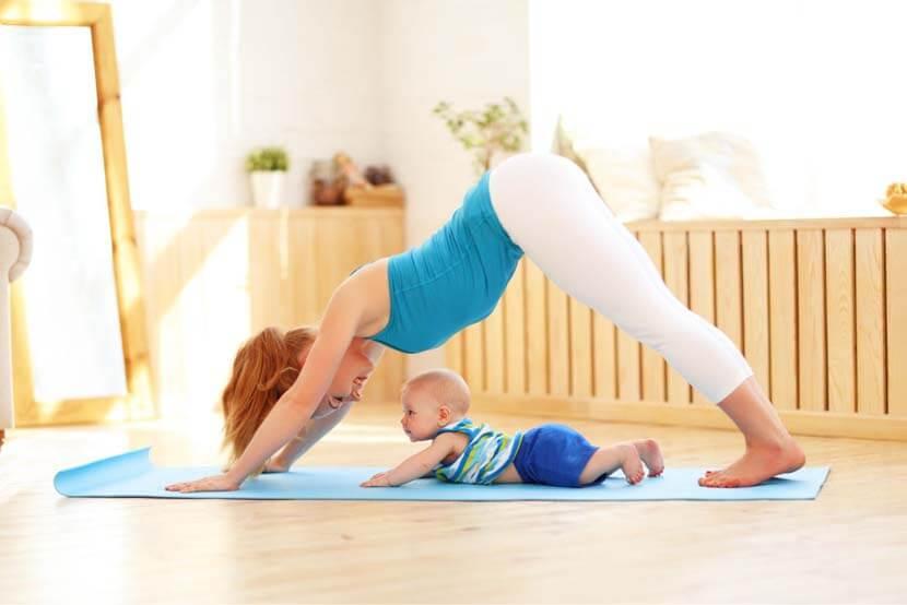 産後には適度な運動も必要