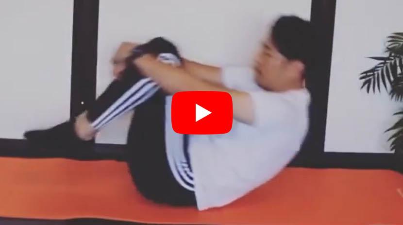 (#13) 腰背腱膜、腰椎関節、腰仙関節、起立筋に効果のあるストレッチ