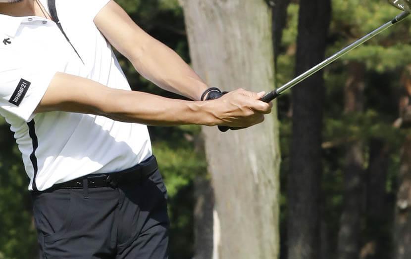ゴルフのスウィング運動