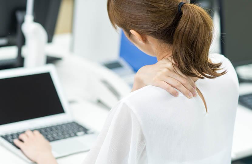 肩回り肩甲骨周りの血行を促進して楽になりたい(デスクワーク)