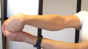 《回外筋のストレッチ方法》手首、腕の回外動作の柔軟性を高めるねじるケア