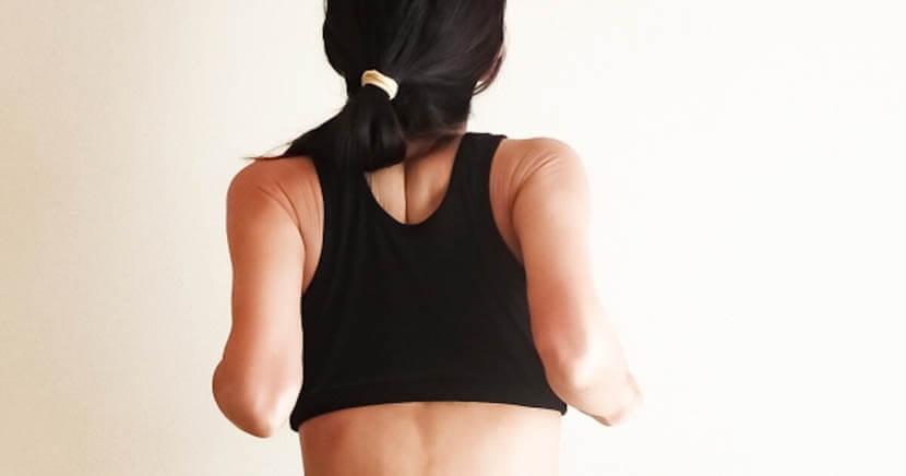 背骨と肋骨の可動域が改善