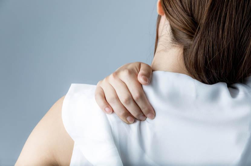 肩回り肩甲骨周りの血行改善