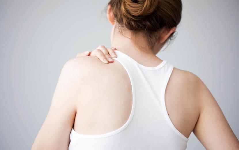 背中の血行改善で疲労解消