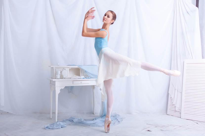 クラシックバレエお尻の筋肉(大殿筋)
