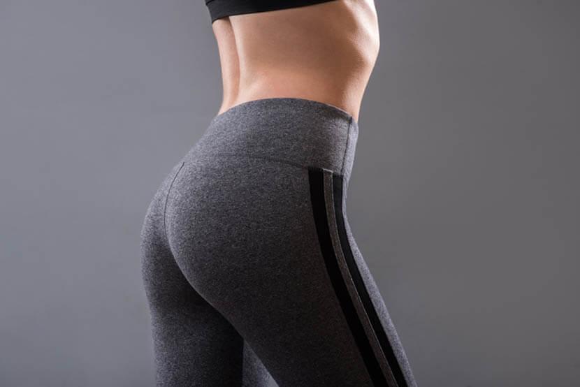 お尻の主要な筋肉、大殿筋、中殿筋、小殿筋、梨状筋