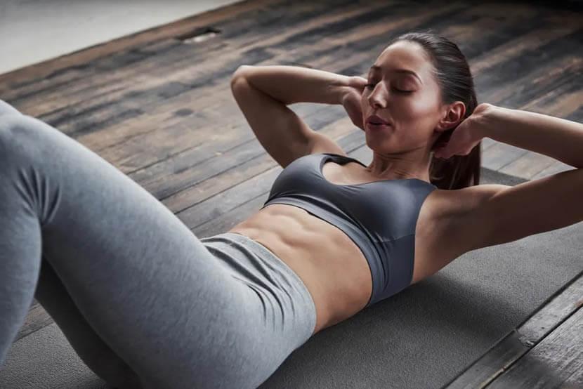 腹筋トレーニング研究風景イメージ
