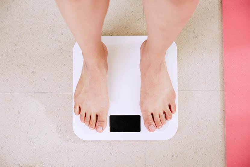 体脂肪率を計測して数値化
