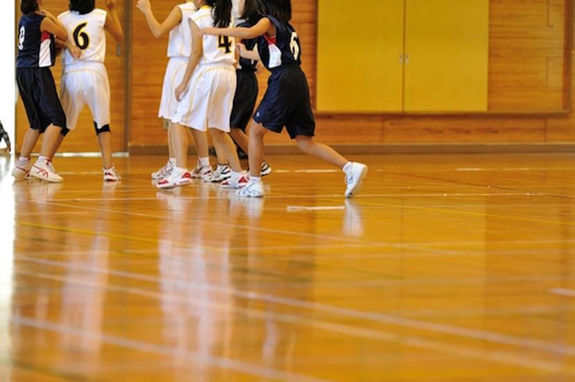 女子バスケ部に所属していた学生時代